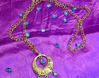 Peruvian Pride jewell pendant necklace
