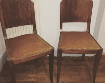 Pair of upholstered Chair