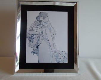 A very nice Art Nouveau Lady image.