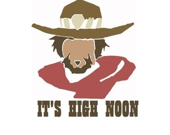 Overwatch McCree High Noon Decal