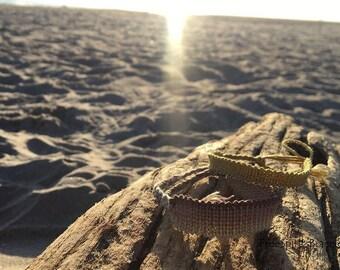 Custom Knitted Friendship Bracelet - Summer Jewelry