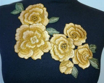 Sew on Flower Patch Applique #7C1473