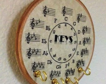 Key Rack for Musicians - Circle of 5ths