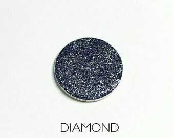 Pressed Glitter Eyeshadow - 'Diamond'