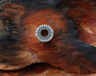 Tunnel Silver & Gold - ear jewelry