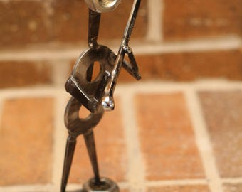 Mechanic - Industrial look metal figure