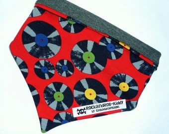 "Turn cloth ""Vinyl"" for babies and toddlers records scarf"