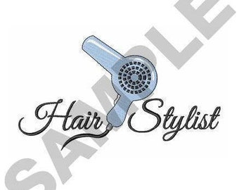 Hair Stylist - Machine Embroidery Design