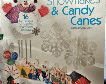 The Needlecraft Shop 848508 Snowmen, Snowflakes & Candy Canes ..16 Designs