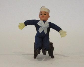 1930's Celluloid Sailor Doll
