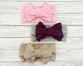 Baby Headband Set, Baby Girl Coming Home Outfit, Baby Girl Headbands, Baby Hair Bows, Baby Bows, Girl Headbands, Newborn Baby Girl