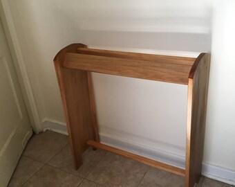 Quilt Rack • Wood Quilt Rack • Quilt Display