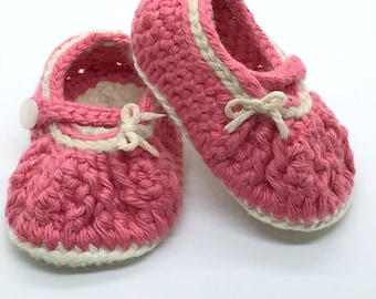 Crochet Baby Booties, Mary Jane Booties