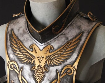 Paladyn leather gorget