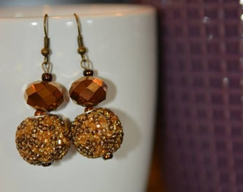 6th pair of Lorraine's Earrings in the Ladies Night Out Series