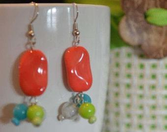 7th pair of Lorraine's Earrings in the Summer Series