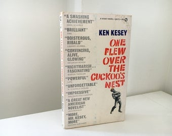 One Flew Over the Cuckoo's Nest by Ken Kesey - 1962 Paperback