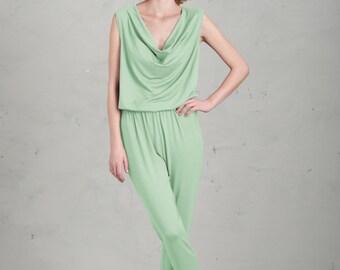 Jumpsuit for Bridesmaids - Anouk, Mint Green