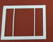 Keystone replacement windows for 1950's dollhouses