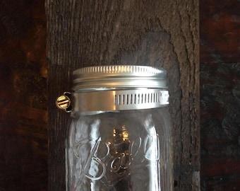 Single Mason Jar Hanger