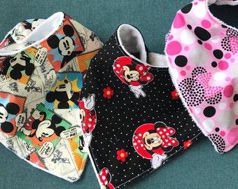 Mickey Mouse Minky Etsy