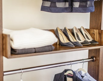 Kinsel Furniture closet system