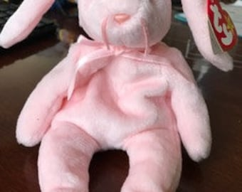 Hoppity the Bunny Beanie Baby (lots of errors!)
