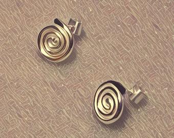 Pure Silver Pachamama Earrings