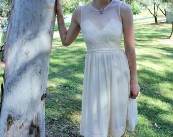 Eco elegant lace wedding dress 'Olena'