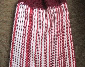 Crochet Hanging Dish Towel