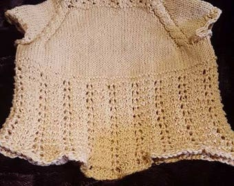 Lacy baby tunic