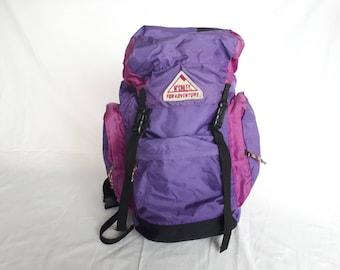 Purple 90s McKINLEY, hiking bag rucksack