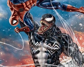 Spider-Man vs Venom 11x17