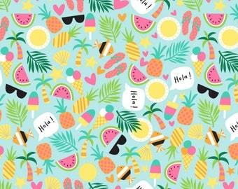 Pre-order Fabric felt, tropical summer