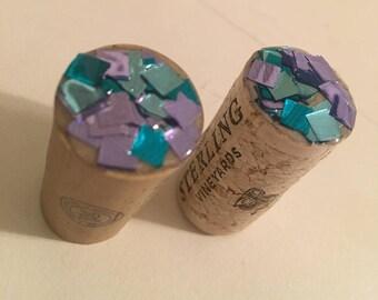 Glitter Wine Cork
