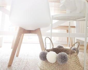 Basket braided tassels Nordic style