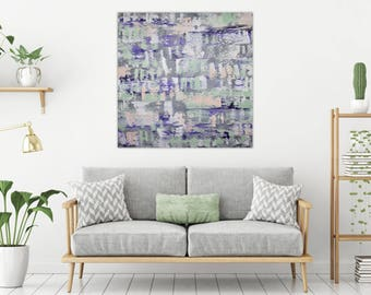 Original fine art abstract painting, abstract art, acrylic art, art on canvas, acrylic painting, colorful artwork, contemporary painting