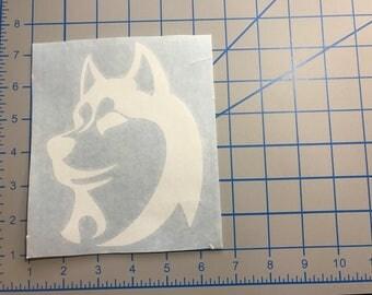 Husky Vinyl Sticker