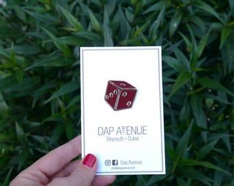 Dice Enamel Pin - DAP Avenue