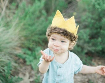 Where the Wild Things Are Full-sized Crown, Max Crown, Wild Things Crown, Wild One, Wild Things Birthday, Wild Things Party Supplies