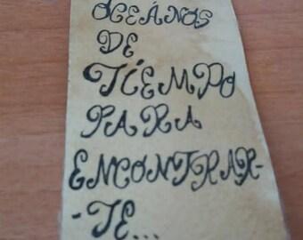 Bookmark Vintage. Different designs. Day of Valentine and Gorjeus.