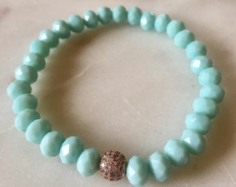Crytals beaded bracelets
