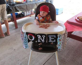 Birthday High Chair Banner