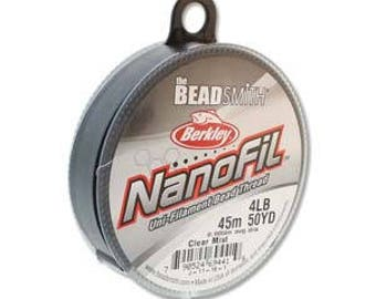 NanoFil, 4 LB, 50 yard spool, Crystal