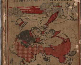 The Adventures of Johnny Chuck - Thornton W. Burgess - Harrison Cady - 1924 - Vintage Kids Book
