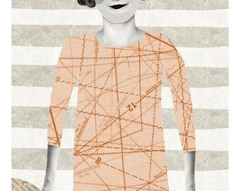 Elinor / Fine Art Print / Impression papier d'art / A3 A4 A5