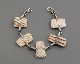 SALE!  40% off Pinned Shell Bracelet