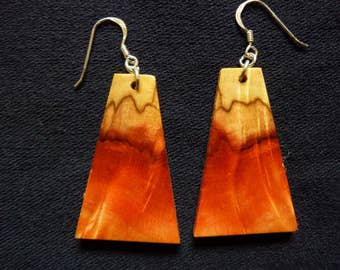 Box Elder earrings #4