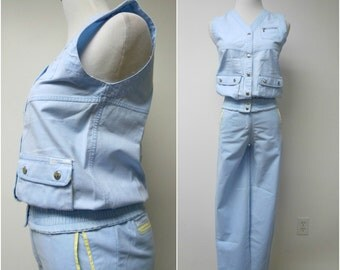 Chego Sweats . top and high waist bottom . 2 piece set . fits an extra small to small