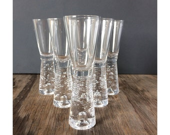 7 Scandanivian Shot Glasses - Mid Century Modern  Barware